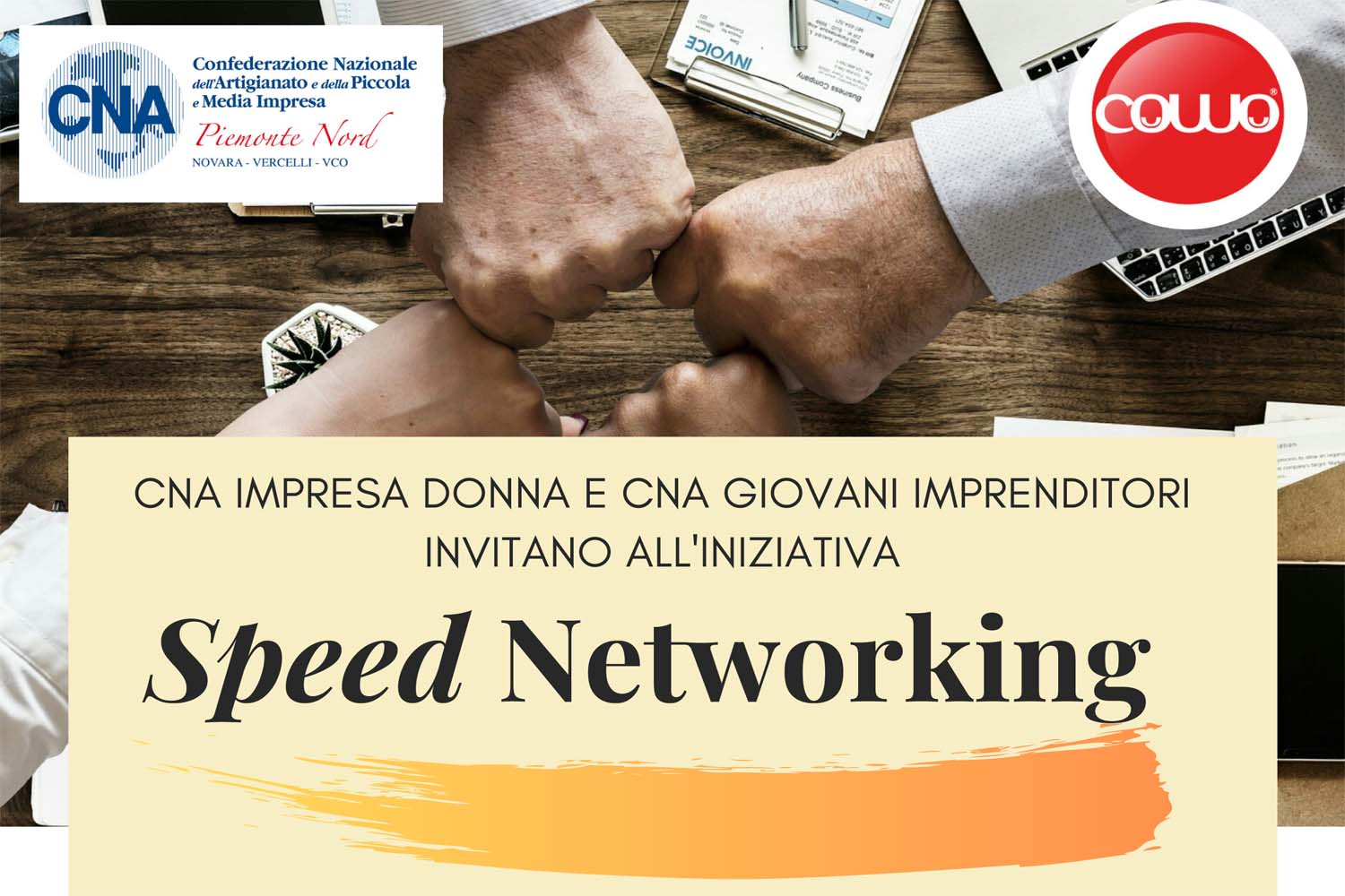 speed networking cna novara